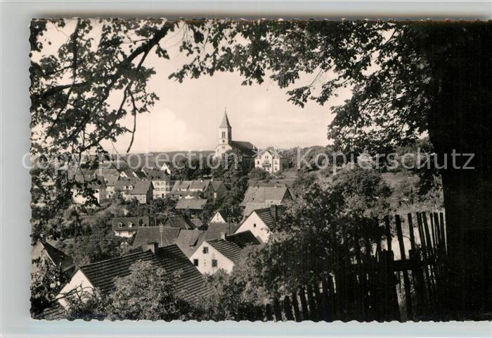 AK / Ansichtskarte Bonndorf Schwarzwald Teilansicht  Kat. Bonndorf
