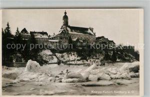 AK / Ansichtskarte Neuburg Donau Schloss im Winterkleid Kat. Neuburg a.d.Donau