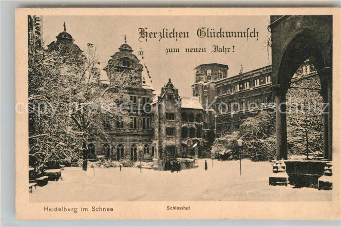 AK / Ansichtskarte Heidelberg Neckar Im Schlosshof Kat. Heidelberg