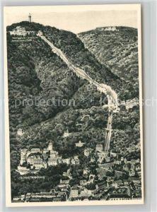 AK / Ansichtskarte Heidelberg Neckar Panorama mit Koenigstuhl und Schloss Kat. Heidelberg