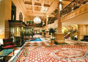 AK / Ansichtskarte Wien Grand Hotel Wien Lobby Kat. Wien