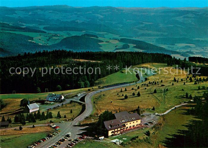 AK / Ansichtskarte Kandel Breisgau Fliegeraufnahme Berghotel Kandel