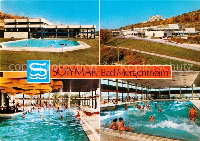 Ak Ansichtskarte Bad Mergentheim Solymar Kat Bad