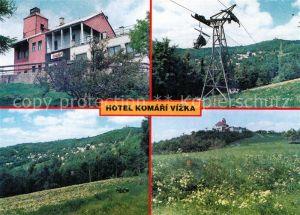 AK / Ansichtskarte Krupka Hotel Komari Vizka Sesselbahn Kat. Graupen
