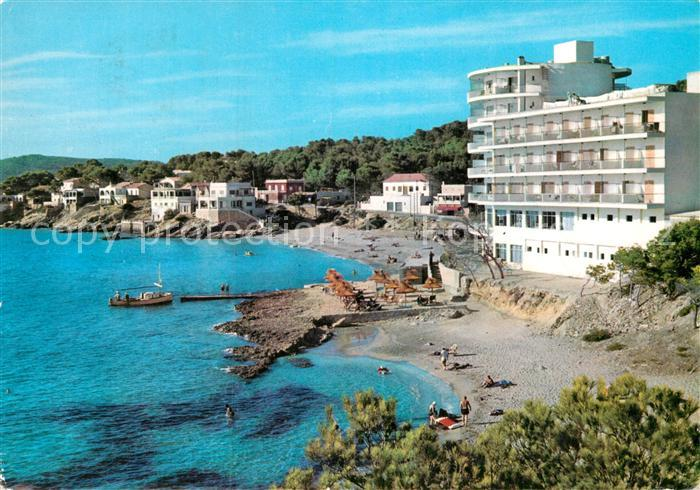 AK / Ansichtskarte San Telmo Andraitx Hotel Aguamarin Kat. Spanien
