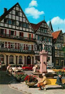 AK / Ansichtskarte Bad Orb Marktplatz Kat. Bad Orb