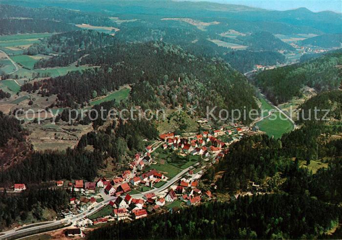 AK / Ansichtskarte Hirschbach Oberpfalz Fliegeraufnahme Kat. Hirschbach