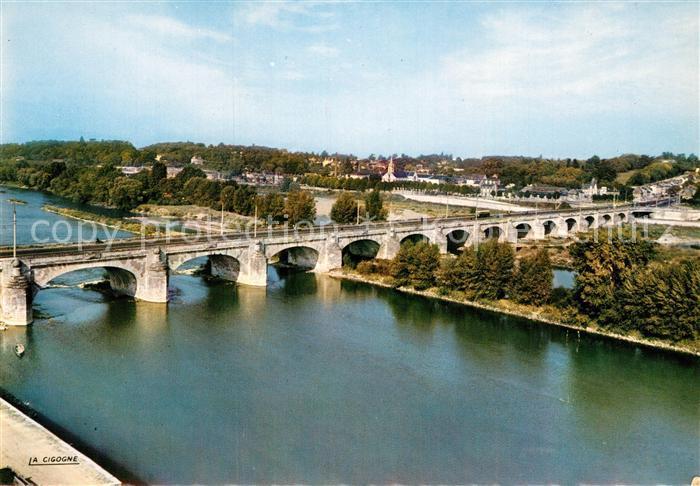 AK / Ansichtskarte Tours Indre et Loire Le Pont de Pierre Coteaux de St Cyr Kat. Tours