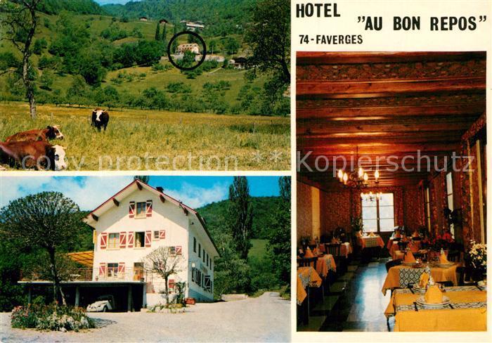AK / Ansichtskarte Faverges Hotel Au Bon Repos Kat. Faverges