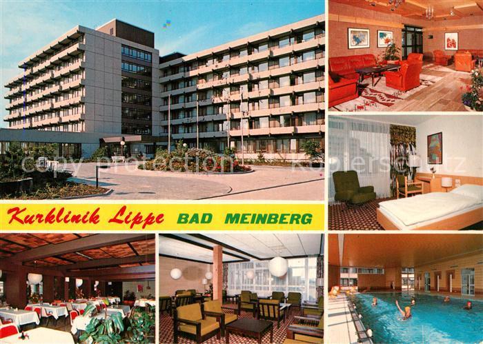 AK / Ansichtskarte Bad Meinberg Kurklinik Lippe Kat. Horn Bad Meinberg