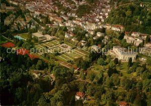 AK / Ansichtskarte Baden Baden Fliegeraufnahme Fliegeraufnahme Hotel Bellevue  Kat. Baden Baden