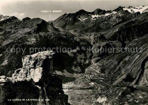 AK / Ansichtskarte La Thuile La Conca di la Thuile Alpenpanorama Kat. La Thuile