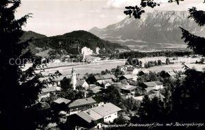 AK / Ansichtskarte Niederaudorf Panorama Kaisergebirge Kat. Oberaudorf