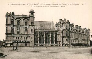 AK / Ansichtskarte Saint Germain en Laye Le Chateau Chapelle Kat. Saint Germain en Laye