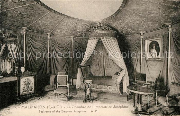AK / Ansichtskarte Malmaison Rueil La Chambre Imperatrice Josephine Kat. Rueil Malmaison