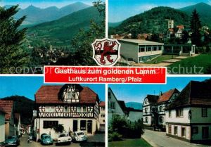 AK / Ansichtskarte Ramberg Gasthaus zum goldenen Lamm Kat. Ramberg