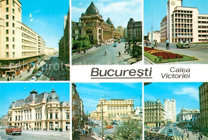 AK / Ansichtskarte Bukarest Calea Victoriei Kat. Rumaenien