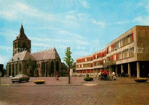 AK / Ansichtskarte Oldenzaal Plechelmus Basiliek en Stadhuis Kat. Oldenzaal
