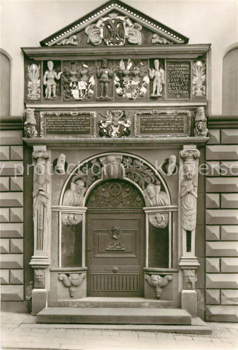 AK / Ansichtskarte Gera Portal des Rathauses Kat. Gera