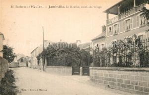 AK / Ansichtskarte Jambville Le Moutier entree du village Kat. Jambville