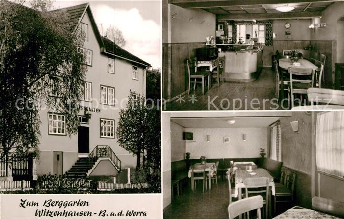 AK / Ansichtskarte Witzenhausen Gasthaus Zum Berggarten Kat. Witzenhausen