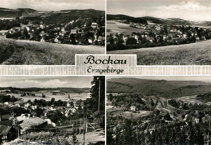 AK / Ansichtskarte Bockau Erzgebirgskreis Landschaftspanorama Kat. Bockau