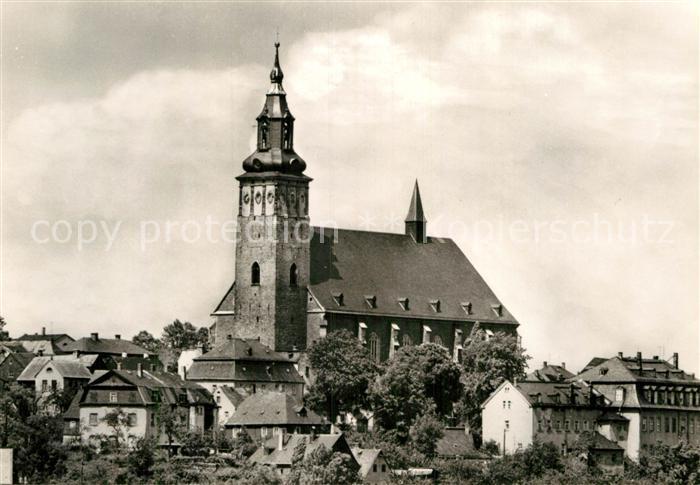 AK / Ansichtskarte Schneeberg Erzgebirge Kirche St. Wolfgang Kat. Schneeberg
