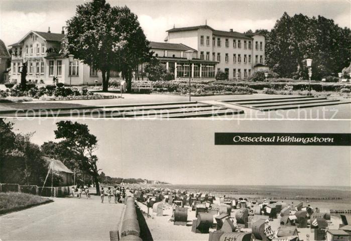 AK / Ansichtskarte Kuehlungsborn Ostseebad Stradn Ostsee Hotel Kat. Kuehlungsborn