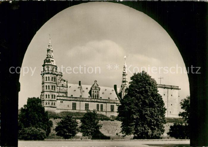 AK / Ansichtskarte Kronborg Slot Schloss Kat. Daenemark