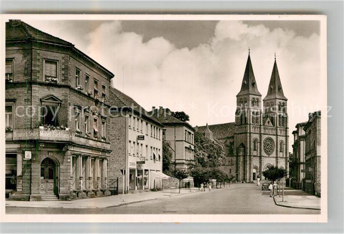 AK / Ansichtskarte Landau Pfalz Suedring Katholische Kirche Kat. Landau in der Pfalz