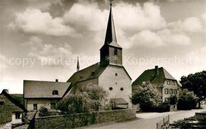 AK / Ansichtskarte Monzelfeld Kath Pfarrkirche Kat. Monzelfeld