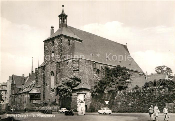 AK / Ansichtskarte Halle Saale St. Moritzkirche Kat. Halle