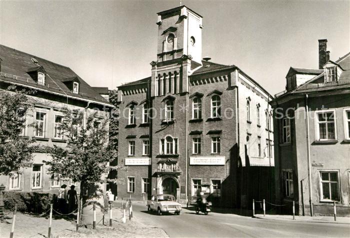 AK / Ansichtskarte Loessnitz Erzgebirge Rathaus Kat. Loessnitz