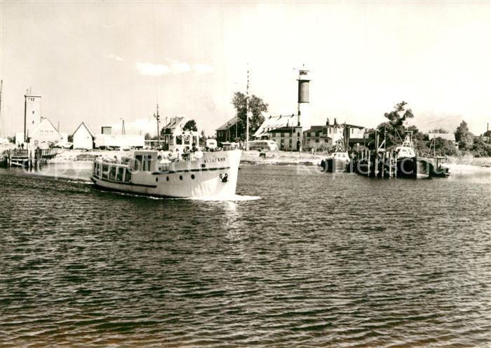 AK / Ansichtskarte Insel Poel Hafen Leuchtturm in Timmendorf Kat. Insel Poel