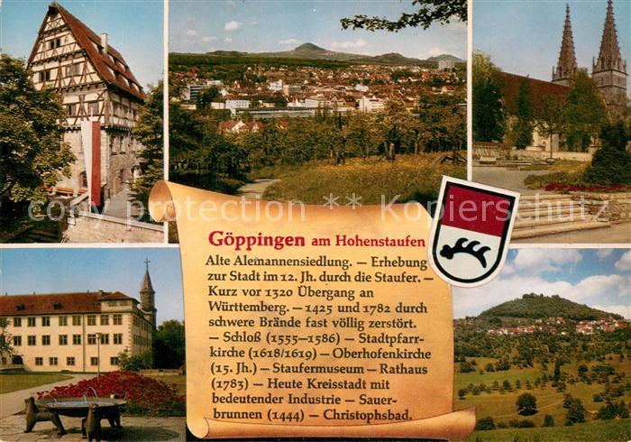 AK / Ansichtskarte Goeppingen am Hohenstaufen  Kat. Goeppingen