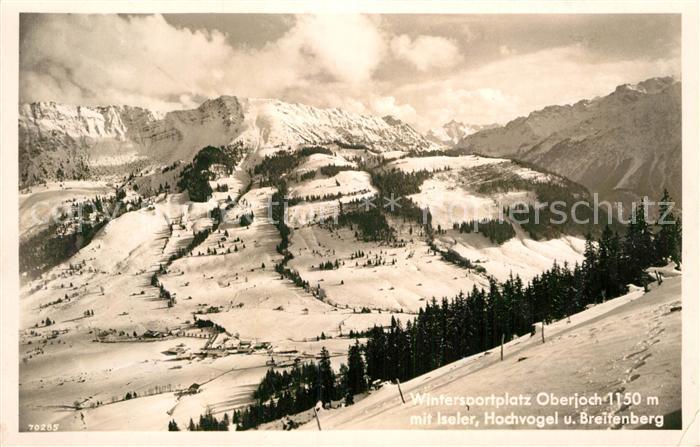 AK / Ansichtskarte Oberjoch Iseler Breitenberg Kat. Bad Hindelang