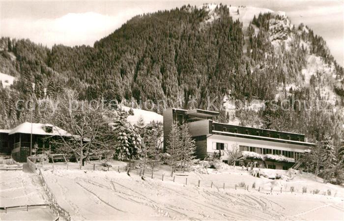AK / Ansichtskarte Vorderhindelang Kindererheim Ehlert Kat. Bad Hindelang