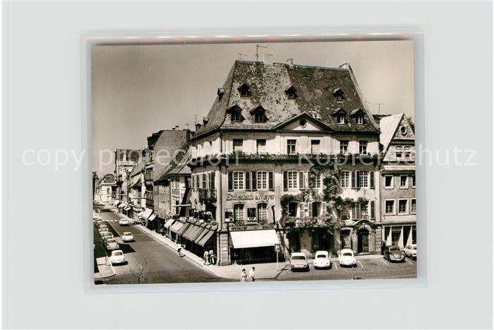 AK / Ansichtskarte Landau Pfalz Marktstrasse Kat. Landau in der Pfalz