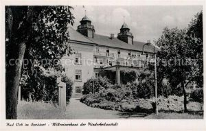 AK / Ansichtskarte Bad Orb Willeminenhaus Kinderheilanstalt Kat. Bad Orb