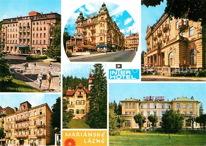 AK / Ansichtskarte Marianske Lazne Interhotel  Kat. Marienbad