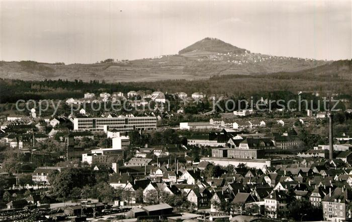 AK / Ansichtskarte Goeppingen Stadtpanorama mit Hohenstaufen Kat. Goeppingen