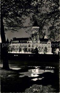 AK / Ansichtskarte Luxembourg Luxemburg La Caisse d Epargne la nuit Kat. Luxembourg