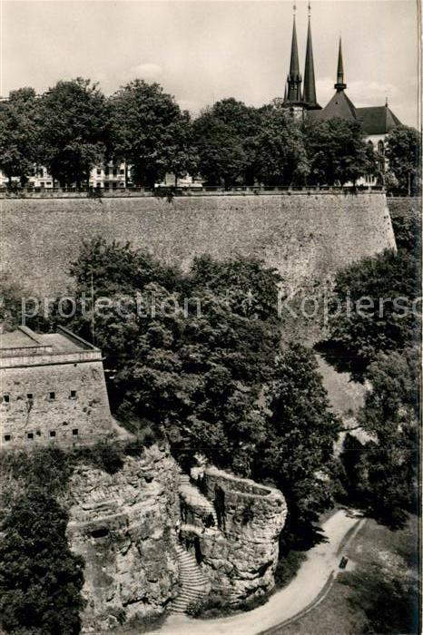 AK / Ansichtskarte Luxembourg Luxemburg Le Bastion Beck Eglise Kat. Luxembourg