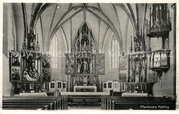 AK / Ansichtskarte Petting Pfarrkirche   Kat. Petting