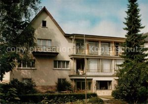 AK / Ansichtskarte Bad Orb Haus Marienruh Kat. Bad Orb