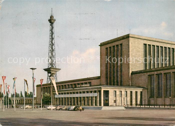 AK / Ansichtskarte Charlottenburg Ausstellungshallen am Funkturm Kat. Berlin