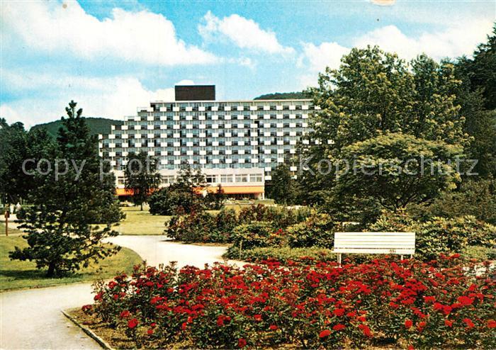 AK / Ansichtskarte Bad Lauterberg Kneipp Heilbad Promenade Hotel Kurzentrum Revita Kat. Bad Lauterberg im Harz