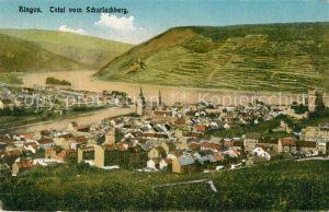AK / Ansichtskarte Bingen Rhein Panorama vom Scharlachberg Kat. Bingen am Rhein