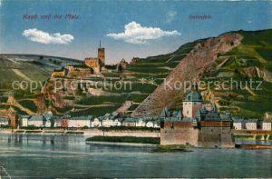 AK / Ansichtskarte Bingen Rhein Kaub Pfalz Gutenfels Kat. Bingen am Rhein