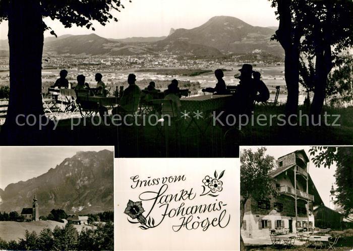 AK / Ansichtskarte Piding Gasthaus St.Johannis Hoegel Salzburg Untersberg  Kat. Piding